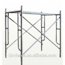 Andaime exterior do quadro galvanizado da construção