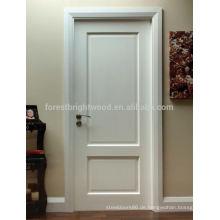 Niedrige Preise Einfache weiße Holztürentwürfe