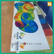 Bannière de pvc d'impression numérique de Tongjie, bannière de maille, bannière