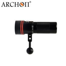 Archon 110 Interruptor de botón de ángulo de luz ancho 2600lm Antorcha de video de buceo W40V