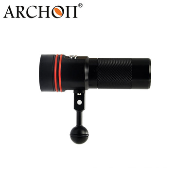 Archon 110 Wide Light Angle Button Switch 2600lm Дайвинг Видео Факел W40V