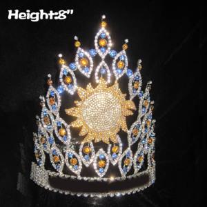 Coroas de concurso de verão personalizadas por atacado