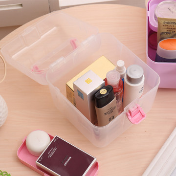 Clear Small Emergency Kit Container Bin