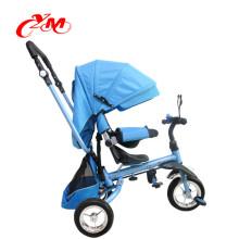 venta caliente bebé triciclo niños bicicleta en yiwu / niños triciclo exportado a malasia alta calidad / asiento de bebé bicicleta 3 ruedas