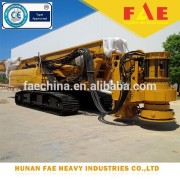 High quality Chinese supplier hydraulic rotary crawler drilling rig