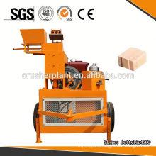 WT1-20 clay brick making machine for clay