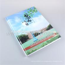 Perfect Binding Custom Printing Libro de tapa blanda