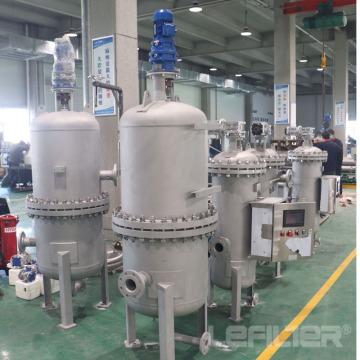 Filtre automatique pour le système d'eau industriel de la centrale hydroélectrique
