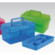 Caixa de equipamento de pesca de uma única bandeja de alta qualidade