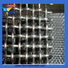 Rede de arame da mineração 65mn, rede de arame frisada (CT-630)