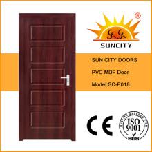 Portes intérieures MDF de haute qualité