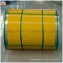 Дорожные желтые гаражные ворота Прикладной цветной оцинкованный стальной лист с высокой отражающей способностью