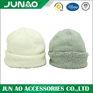 Winter wholesale polar fleece customized design hat
