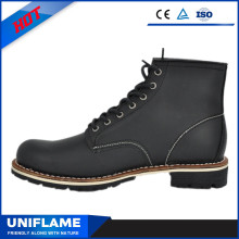 Smooth Leather Safety Shoes/Boots with ASTM Certification Ufc013
