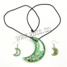 Gets.com 2015 lampwork moon rani haar jewelry set