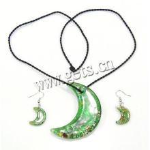 Gets.com 2015 lampwork lua rani haar jóias conjunto