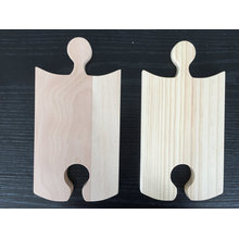 Wooden Puzzle Party Platter/Serving Board