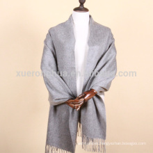 Mantones de cachemir de color liso de cachemir puro de Mongolia Interior