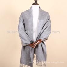 Inner Mongolia pure cashmere plain color mens cashmere shawls