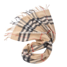 Hersteller der Inneren Mongolei produzieren Großhandel Wolle Kaschmir gemischt modischen Herren Schal