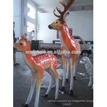 Grandes animales modernos escultura al aire libre