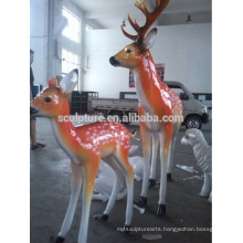 large modern animals outdoor sculpture