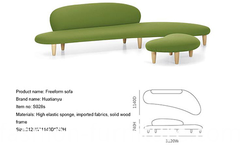 Fabric Freeform Sofa