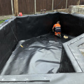 Fish pond liners price 0.75mm 1mm hdpe geomembrane