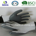 13G Polyester Shell with Nitrile Coated Work Gloves (SL-N101)