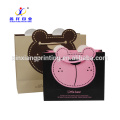 Customized Logo!Cheap Custom Promotional Brown Kraft Paper Shopping Bags Wholesale