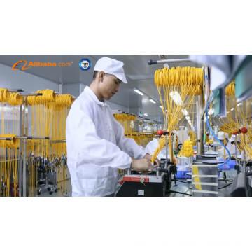3 metros (10 pies) MTP / Macho-MTP / Macho 12 Fibras OM4 50/125 Cable de troncal multimodo, Tipo B, Elite, LSZH, cordón de conexión de magenta
