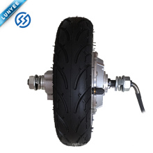 Motor sin engranaje de la silla de ruedas sin cepillo de 48v 350w / motor eléctrico del eje de rueda de 8 pulgadas