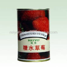 Süßes Essen aus China Goldene Erdbeerfrucht in Sirup