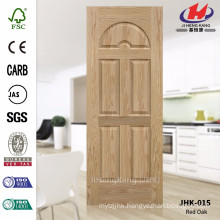 JHK-015 Mountain Grain Texture 8mm Depth Decorative Internal Moulded EV ASH Wood Veneer Laminate Door Skin