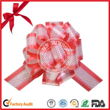 Wholesale Popular Product Custom Colorful Printed POM-POM Pull Bow