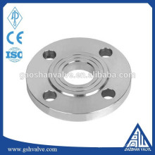 stainless steel water plate flange