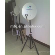Antenne satellite de fabrication de tôlerie Support de montage / support multifonction