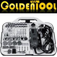 163pcs 135W Ordem de Correio com Flex Shaft Portátil Hobby Rotary Tools Kit Acessório Set Mini ferramentas eléctricas Grinder para Jóias