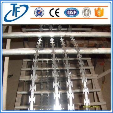 Panel Pagar Welded Razor Dikimpal