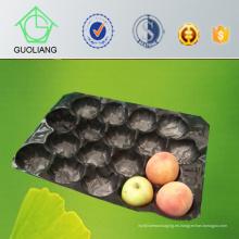 Suave amortiguación protectora de grado alimentario PP Inner Liner en envases para manzana, melocotón, tomate