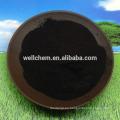 Soluble en agua Sopor de polvo brillante Humate de potasio