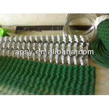 Maschendrahtzaun / größte Manufaktur / PVC beschichtet