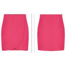 Новое прибытие 2015 Мода Красное Office Женщины карандаш юбка для лета