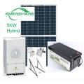 Sistema de almacenamiento de energía de batería solar híbrida / fuera de red de 8 KW