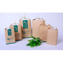 Stand Up Plastic Wheat Flour Packaging Bags