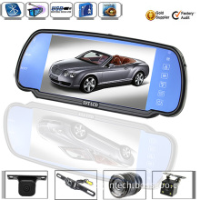 7 Inch Waterproof Car Rearview Mirror for Bus