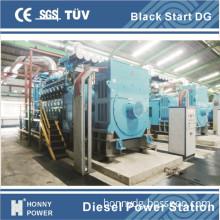 Generator Sets Parallel 120mw Diesel Power Plant