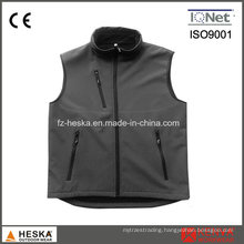 Wholesale Cheap Casual Safety Mens Waistcoat Softshell Vest Coat