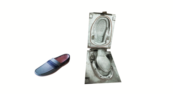 PVC leather shoe mould