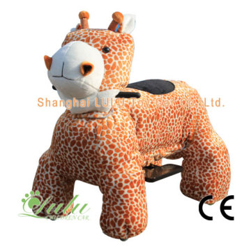 giraffe ride toy car